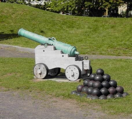 Fort Anne bronze cannon