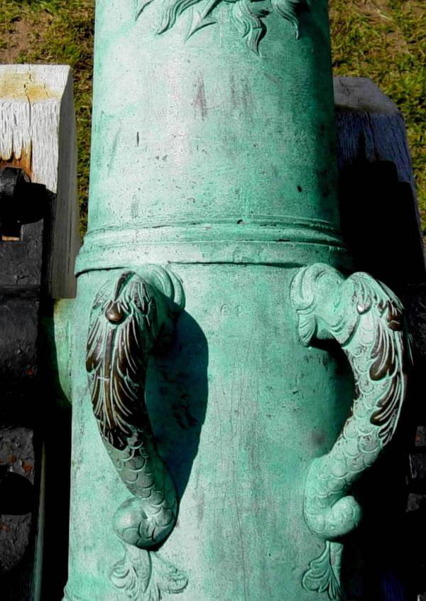 Fort Anne bronze cannon