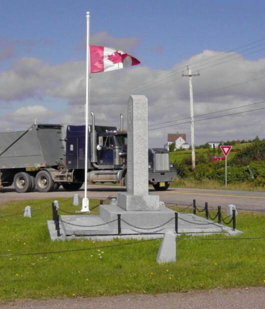 Belle Cote: war memorial