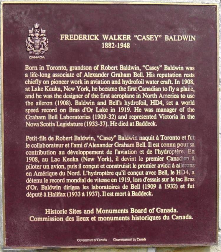 Frederick Walker Casey Baldwin (1882-1948) -3