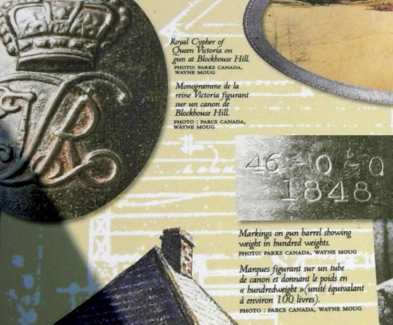 Defence of Lunenburg, interpretative panel -10