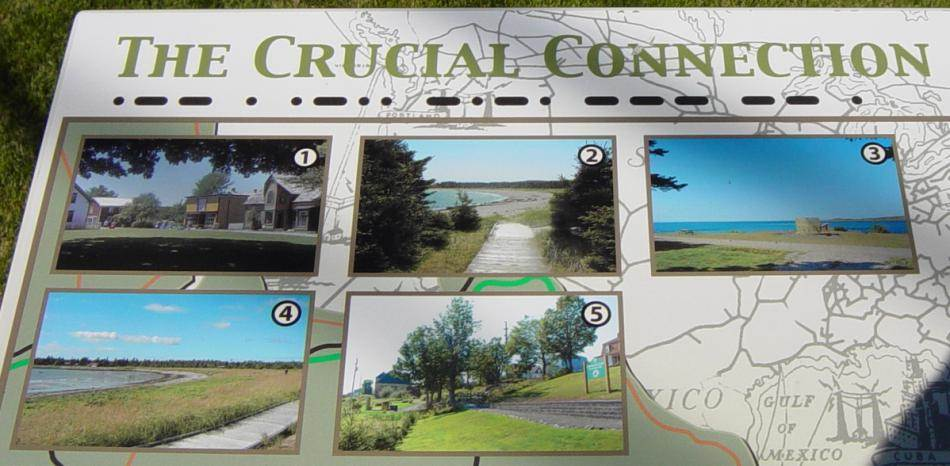 Hazel Hill: Commercial Cable Trans Atlantic Park, west interpretative panel