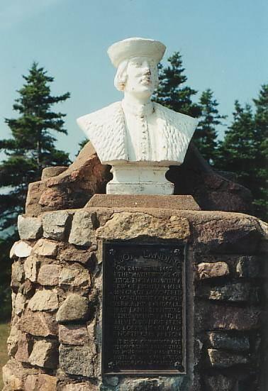 John Cabot monument