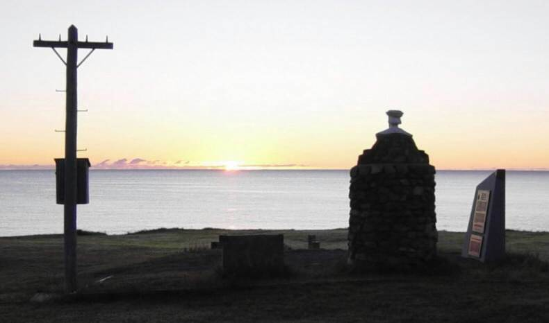 Sunrise at Aspy Bay