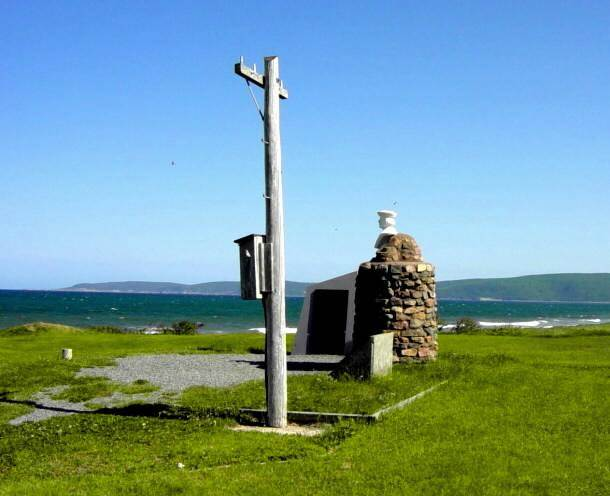 Cabot Strait telegraph cable historic site