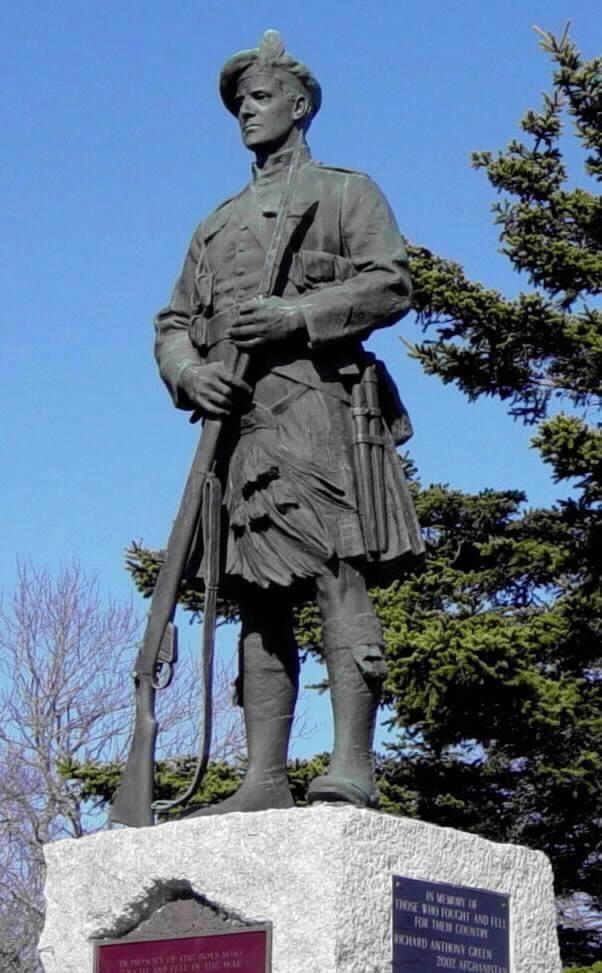 Chester: war memorial monument, sculpture by Massey Rhind