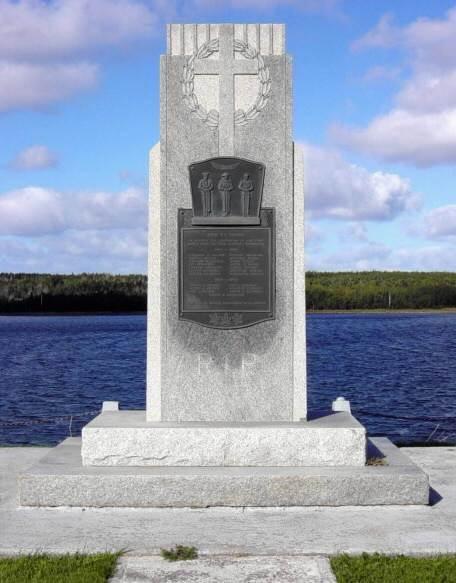 Cheticamp: war memorial