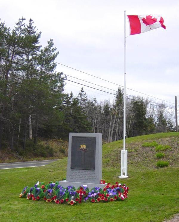 War memorial monument, Clementsport -5