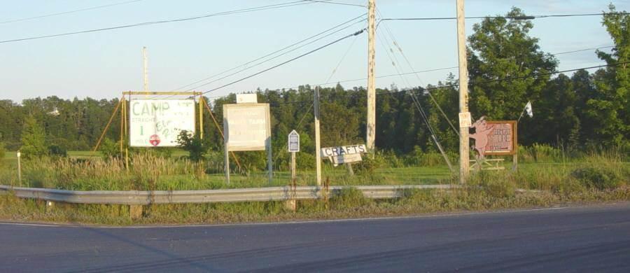 Colchester County: Acadian Heritage sign #05, Glenholme -2