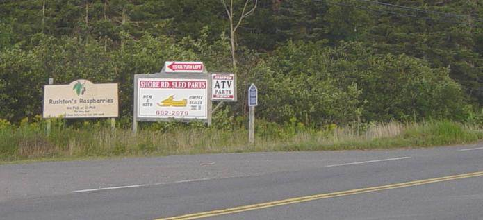 Colchester County: Acadian Heritage sign #6, Lower Debert