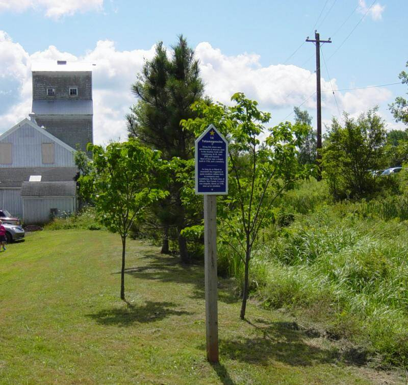Colchester County: Acadian Heritage sign #14, Tatamagouche