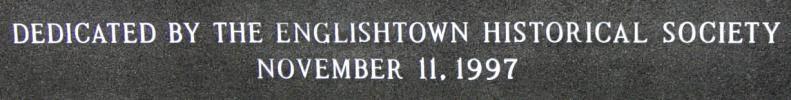 Englishtown war memorial monument -5
