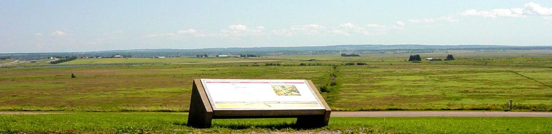 Fort Lawrence interpretative panel