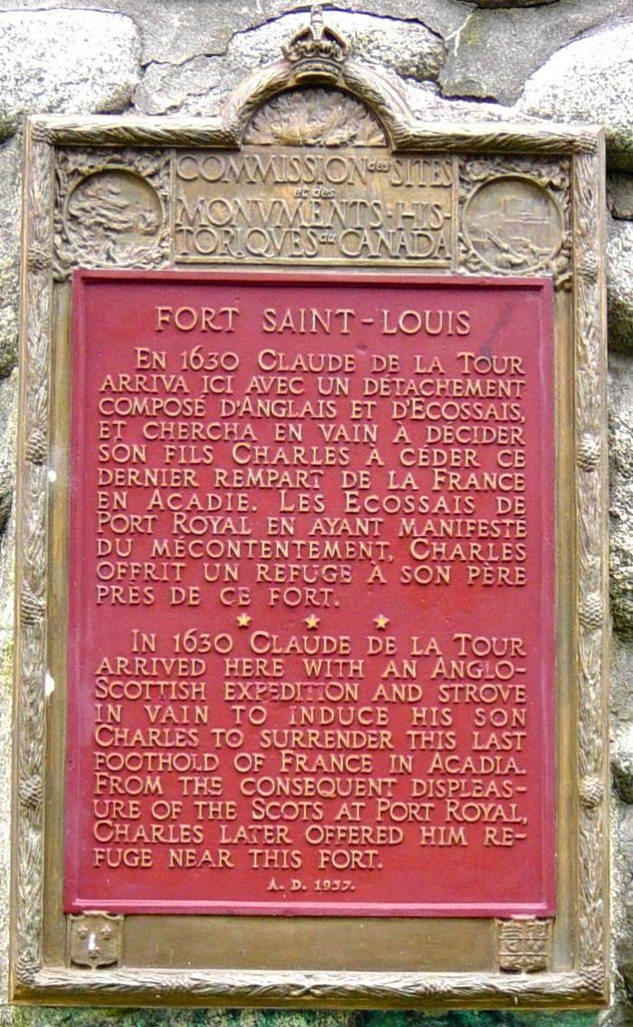 Port LaTour: Fort St. Louis -3