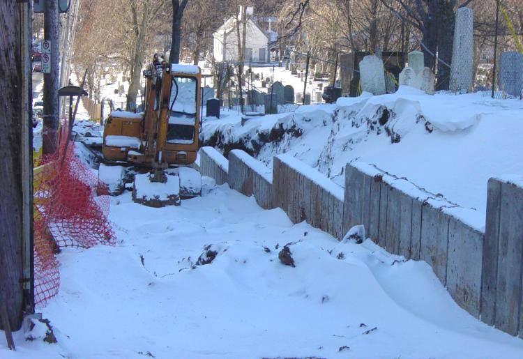Halifax: Fort Massey cemetery
