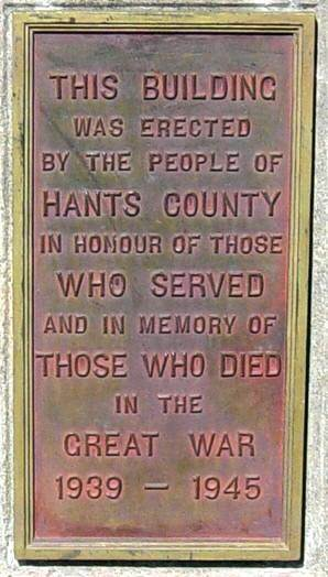 Hants County War Memorial Centre, Windsor