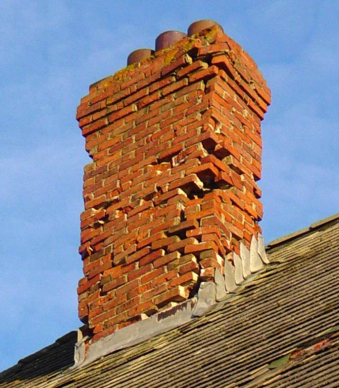 Hazel Hill: Commercial Cable Company telegraph building, middle chimney