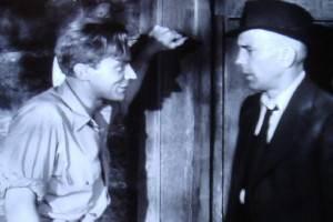 Arthur Kennedy with Humphrey Bogart (in High Sierra, 1941