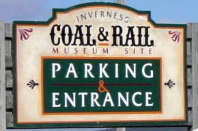 Inverness: coal miners monument