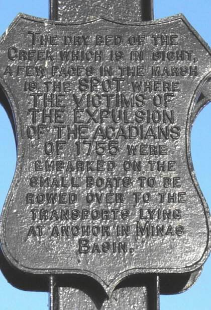 Plaque on the Iron Cross monument