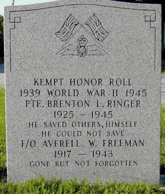 Kempt war memorial -2