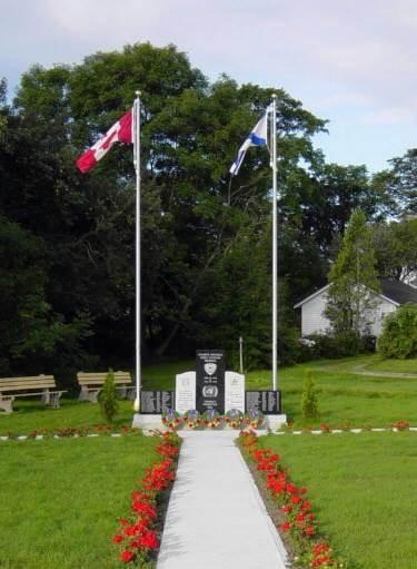 Yarmouth: Korean War memorial