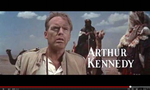 Original theatrical trailer, Lawrence of Arabia, 1962
