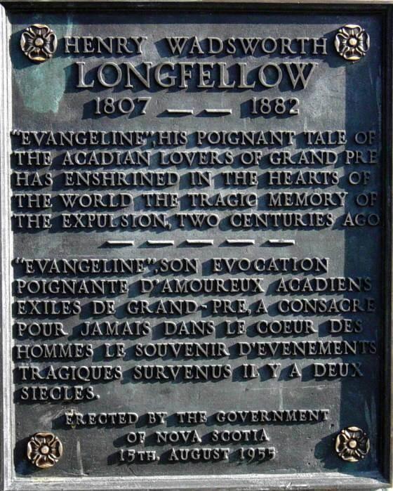 H.W. Longfellow: plaque -2