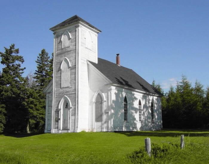 King Seaman church, built 1863