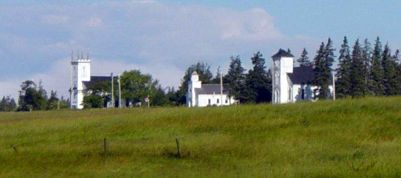 Minudie: Two heritage churches and school