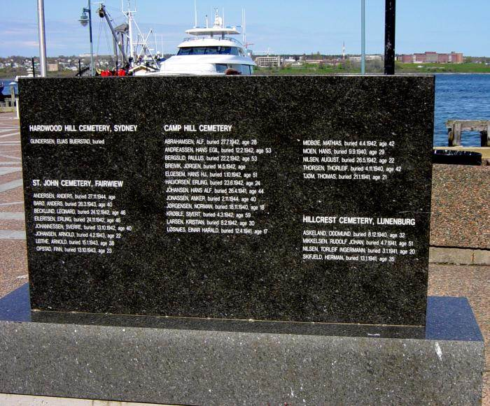 Halifax: Norwegian Memorial, Sackville Landing -4