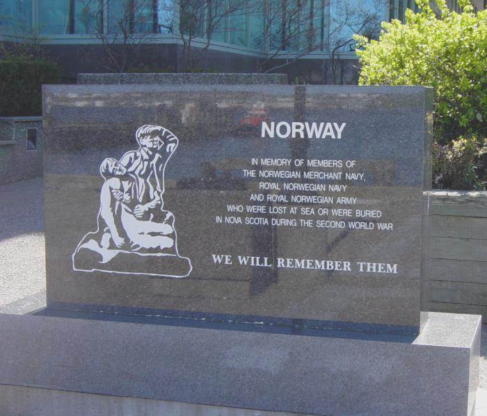 Halifax: Norwegian Memorial, Sackville Landing