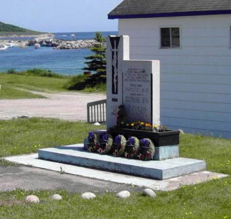 Ingonish: war memorial