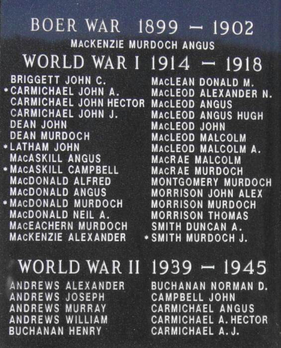 North River: war memorial, left panel