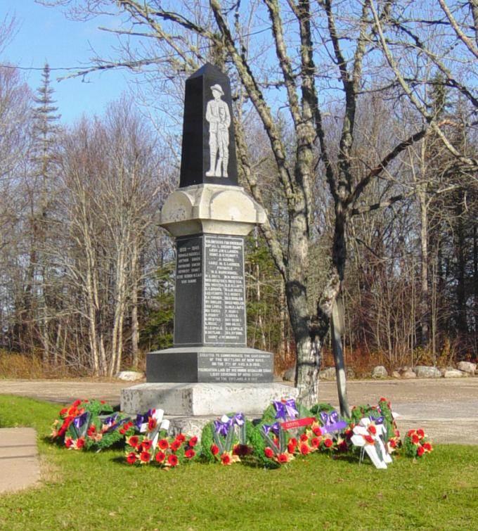 New Ross war memorial monument
