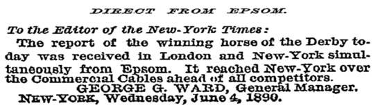 New York Times, 5 June 1890