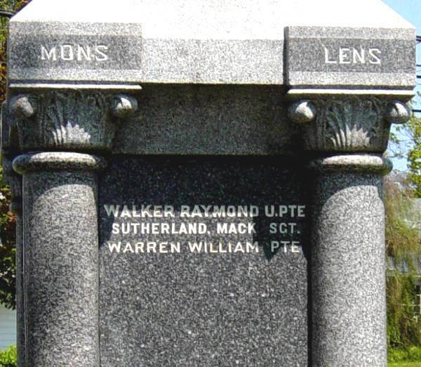 Oxford: war memorial monument