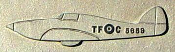 Northwest Cove: Flight Sergeant Sabourin memorial plaque, 1943