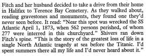 Saint John Telegraph-Journal, 23 April 2005