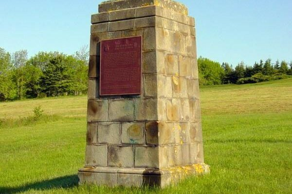 Monument commemorating the Scotch Fort 1629-1632 -2