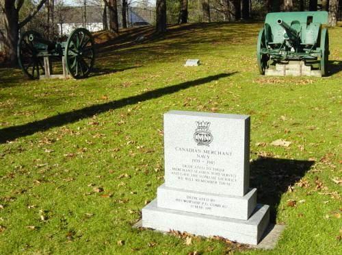 Shelburne war memorial: Merchant Navy monument