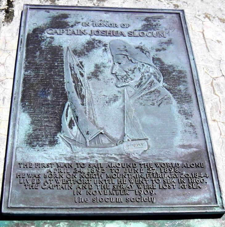 Joshua Slocum plaque -2