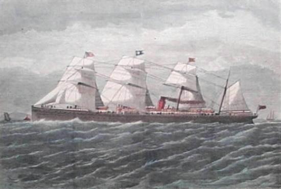 S.S. Atlantic, Harper's Weekly 1873