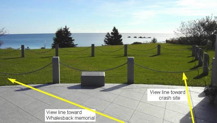 Swissair Flight 111 memorial, Bayswater: general view looking south-east