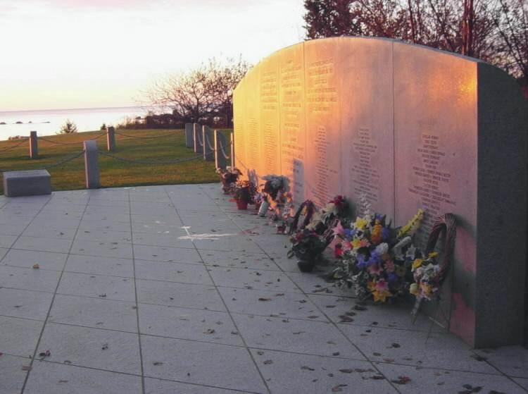 Swissair Flight 111 memorial, Bayswater: dawn