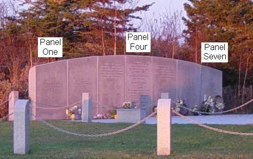 Swissair Flight 111 memorial, Bayswater: at dawn