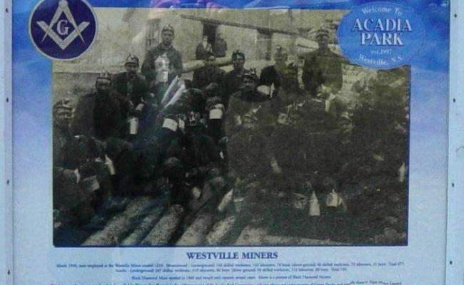 Westville Acadia Park: Westville miners -15