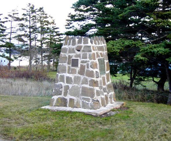 Nova Scotia: Westport monument