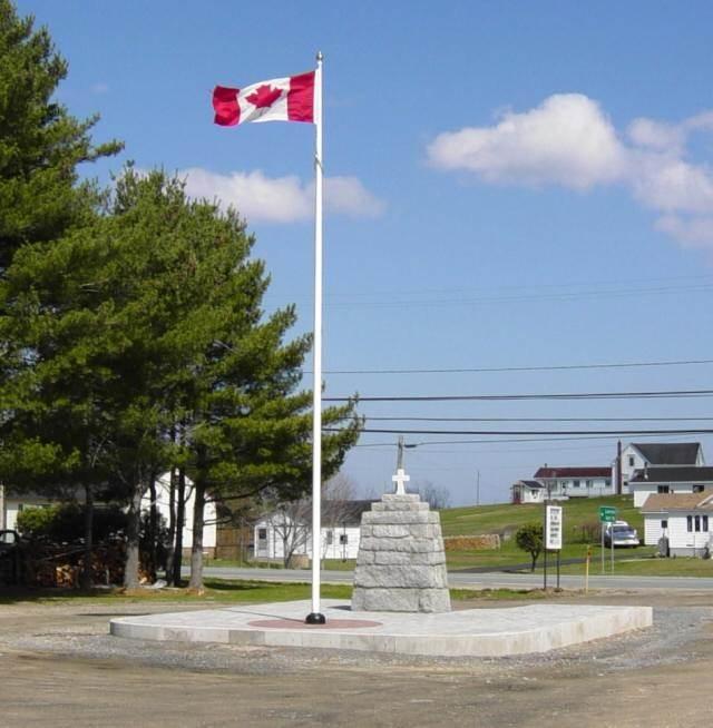 War memorial, Western Shore: general view