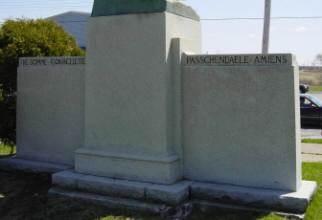 Westville: back of war memorial